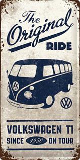 VW Bulli - The Original Ride Blechschild - Vorschau