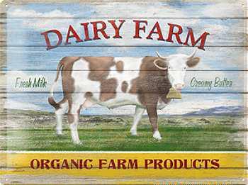 Dairy Farm Blechschild - Vorschau