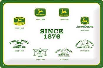 John Deere Since 1876 Blechschild