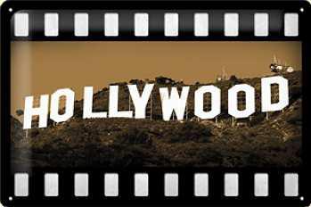 Hollywood Blechschild