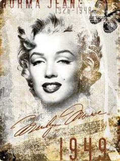 Marilyn Monroe Norma Jean Blechschild
