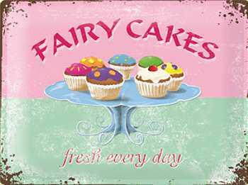 Fairy Cakes Blechschild - Vorschau