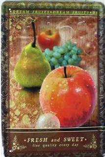 Fresh & Sweet Apfel Blechschild - Vorschau