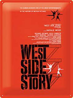 West Side Story Blechschild - Vorschau