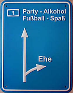 Funschild Party - Alkohol