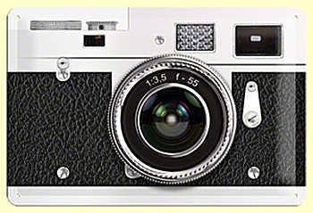 Retro Photography Blechschild - Vorschau