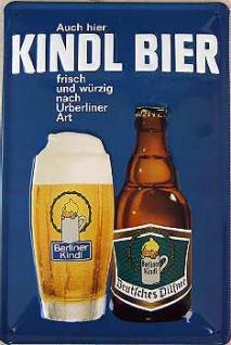 Kindl Bier Blechschild - Vorschau