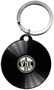Schlüsselanhänger - Retro Vinyl