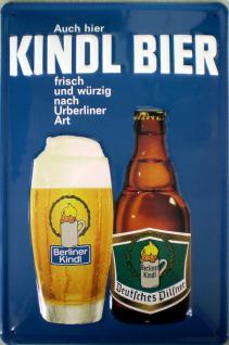 Kindl Bier Blechschild