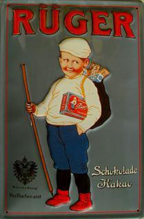 Rüger Hansi Blechschild - Vorschau