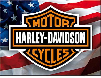 Magnet Harley Davidson USA - Vorschau