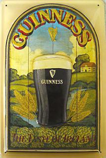 Guinness The Taste Of Ireland Blechschild