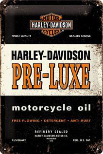 Harley-Davidson - Pre-Luxe Blechschild - Vorschau