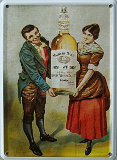 Duncan Alderdice Irish Whisky Mini Blechschild