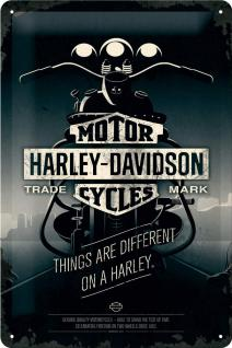 Harley-Davidson - Things Are Different Blechschild