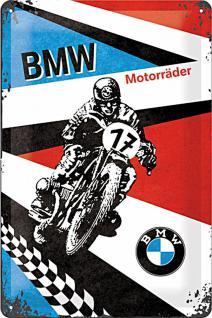 BMW - Motorräder Blechschild - Vorschau