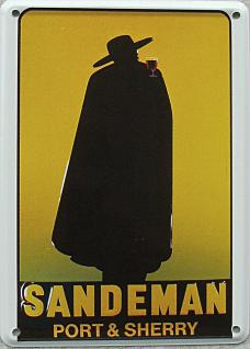 Sandemann Port & Sherry Mini Blechschild - Vorschau