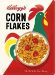 Kellog's - Corn Flakes Cornelius Blechschild