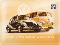 VW der Volkswagen Blechschild