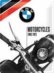 BMW - Motorcycles since 1923 Blechschild, 30 x 40 cm