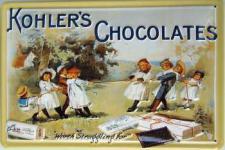 Kohler's Chocolates Blechschild