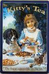 Kitty's Tea Blechschild