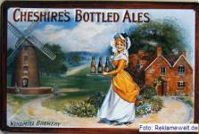 Cheshires Bottled Ales Blechschild