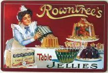 Rowntree's Table Jellies Blechschild