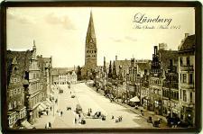 Lüneburg - Am Sande Anno 1917 Blechschild