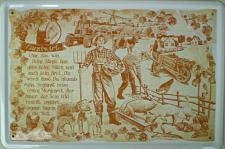 Beruf - Landwirt Blechschild