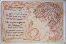 Beruf - Psychologe Blechschild