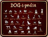 Fun-Schild Dog-i-pedia