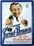 Fernet-Branca Mini-Blechschild