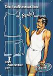 Brodys Unterwäsche Blechschild