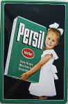 Persil Mädchen mit Packung Blechschild