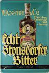 Stonsdorfer Bitter Blechschild