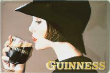 Guinness - Lady Blechschild