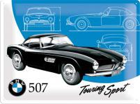 BMW - 507 Blechschild