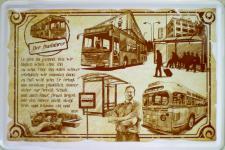 Beruf - Busfahrer Blechschild