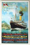 Hamburg-Süd-Amerikanische Dampfschifffahrts-Ges. Blechschild