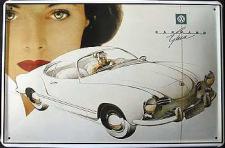 VW Karmann Ghia Blechschild