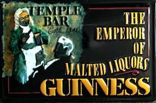 Guinness The Temple Bar Blechschild