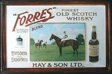 Forres Finest Old Scotch Whisky Blechschild