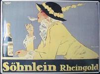 Söhnlein Rheingold Blechschild