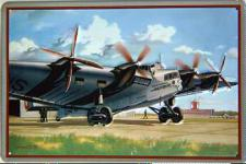 Junkers G38 (Hindenburg) Blechschild