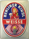 Berliner Kindl Weisse Blechschild