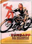 Blechpostkarte Zündapp