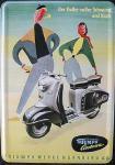 Blechpostkarte Triumph Contessa