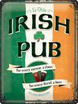 Irish Pub Blechschild