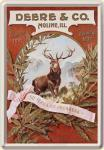 Blechpostkarte John Deere Deere & Co